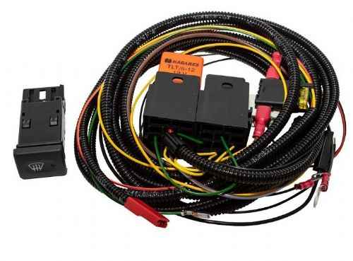 Defender Heated Windscreen Wiring Kit - Land Rover Switch - DA1401